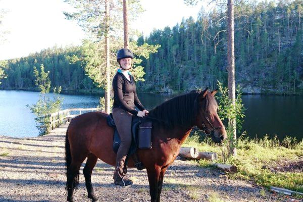 Annemiek and Yrpa Klövertjärn