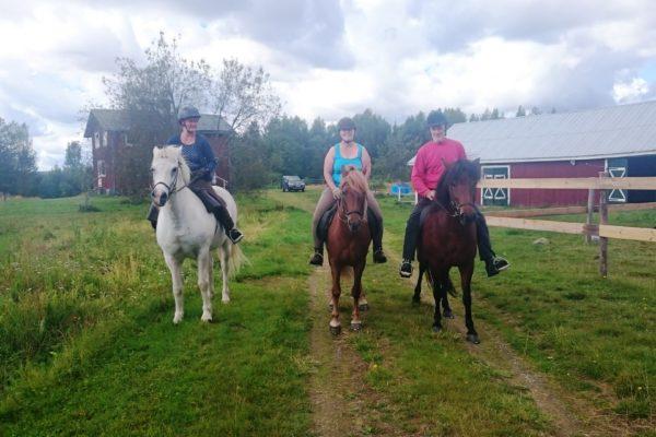 Start family ride
