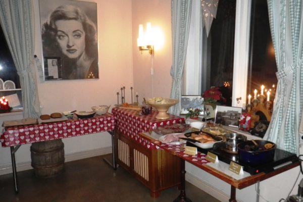 New Years Eve buffet