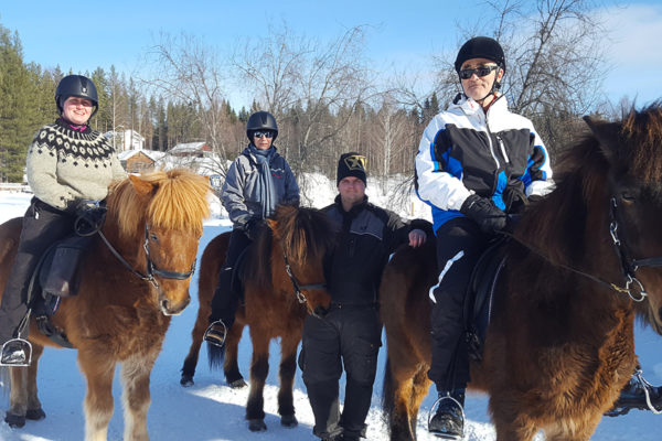 family ride winter